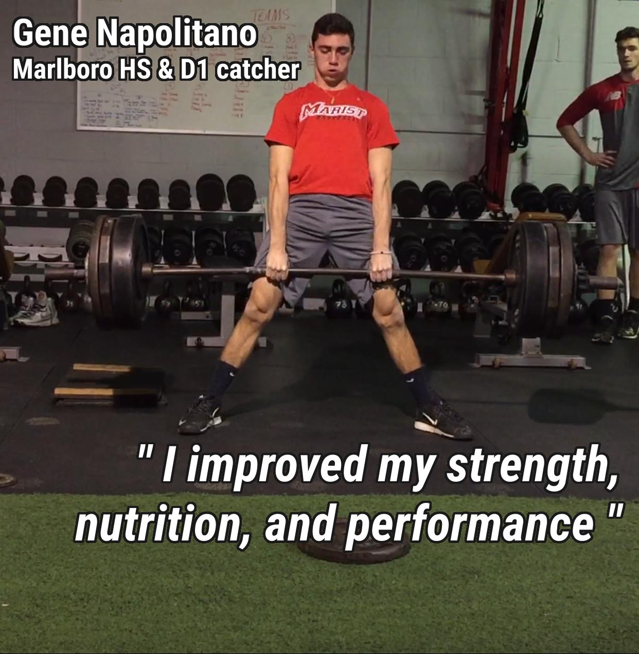 Gene Napolitano Testimonial